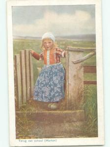 Divided-Back CHILDREN SCENE Great Postcard AA6141