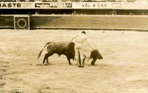 Bullfight.   *RPPC