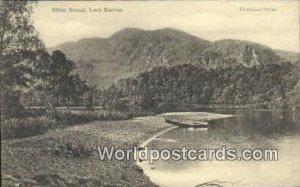 Silver Strand Loch Katrine Scotland, Escocia Unused