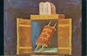 JUDAICA, Jewish Art, Katz, Artist, Torah Scrolls New Year, Ark Aron Hakodesh #35