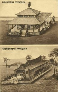 indonesia, JAVA SEMARANG, Colonial Exhibition, Bali Cheribon Pavilion Expo 1914