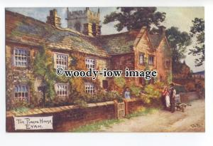 ar0568 - The Plague House, in Eyam, Artist - Jotter - postcard - Tuck's
