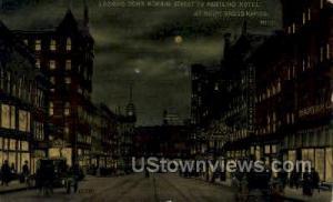 Monroe Street to Pantlind Hotel Grand Rapids MI 1918