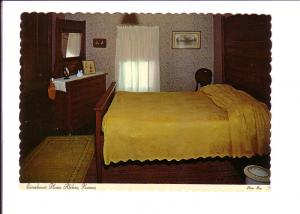 Edgar and Dwight - Bedroom, Eisenhower Home, Abilene, Kansas, Photo Ray