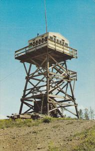 Bull Lookout Tower , British Columbia Forest Service , WILLIAMS LAKE , B.C. ,...