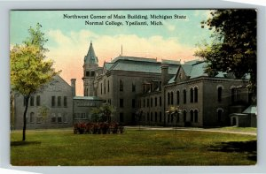 Ypsilanti MI-Michigan, State Normal College, Main Building, Vintage Postcard