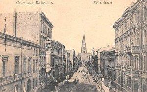 Holtzestrasse Kattowitz Republic of Hungary Unused