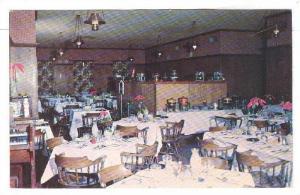 Interior, Mackenzie's Colonial Manor Restaurant, Weldon, North Carolina, PU-1956