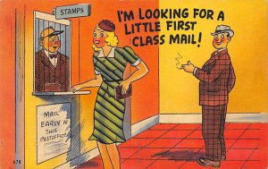 Double Meaning Little First Class Mail Unused