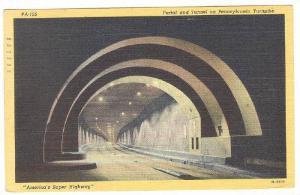 Portal And Tunnel On Pennsylvania Turnpike, Pennsylvania, PU-1947