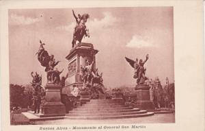 BUENOS AIRES, Argentina; Monumento al General San Martin, 10-20s