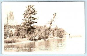RPPC  ELCHO, Wisconsin WI ~ Scene at KRAFTWOOD Langlade County c1930s  Postcard