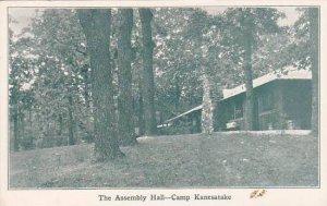 Michigan Camp Kanesatake The Assembly Hall