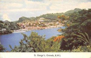 St. George's Grenada 1957 no stamp