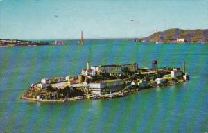 California San Francisco Alcatraz Island 1960
