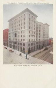 DENVER , Colorado, 1901-07 ; Equitable Building