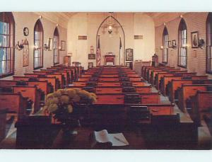 Unused Pre-1980 CHURCH SCENE Nashua Iowa IA p3656