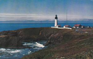 Lighthouse of Yaquina Head, Built in 1874, Near Newport, Oregon, 40-60´s