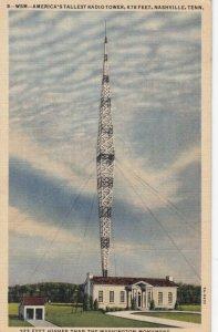 NASHVILLE , Tennessee, 1944 ; Radio Station WSM
