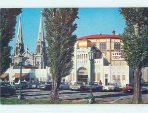 Pre-1980 TOWN VIEW SCENE Ste-Anne De Beaupre Quebec QC p9554