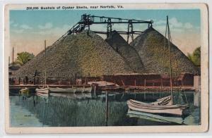 Bushels of Oyster Shells, Norfolk VA