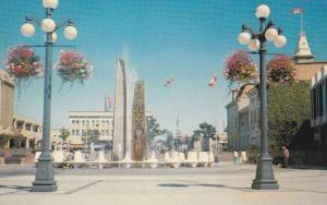 Centennial Square and City Hall,  Victoria,  B.C.,  Canada,  40-60s