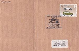 Brooklands Weybridge Surrey 1982 Austin 7 Car Exhibition Cover