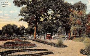 USA Texas City Park Fort Worth 1910