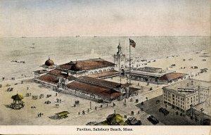 MA - Salisbury Beach. Pavilion