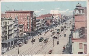 NEW ORLEANS, Louisiana; Canal Street, PU-1921