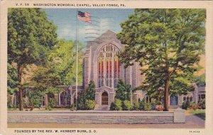 Washington Memorial Chapel Valley Forge Pennsylvania 1940