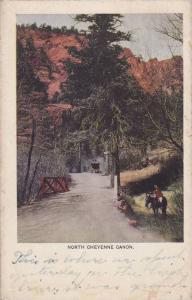 Scenic view of North Cheyenne Canon,Colorado Springs,Colorado,PU-1908