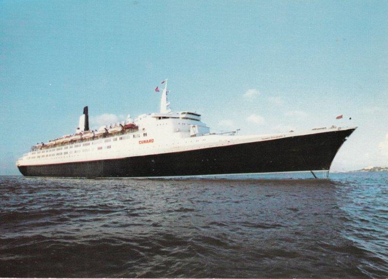 Ocean Liner R.M.S. Queen Elizabeth II , 1950-70s
