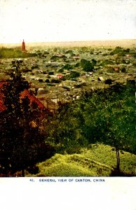 China - Canton. General View