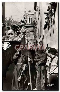 Modern Postcard Perpignan Holy Week procession in Roussillon La Sanch The pro...