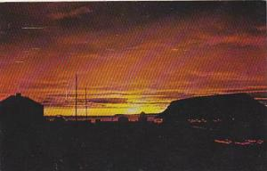 Sunset,Dundas Mts, North Star Bay, Thule Air Base , Greenland , PU-1959
