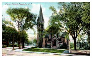 Rhode island   Westerly ,  Christ Church