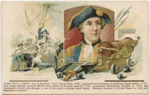 John Paul Jones 1908 Donaldson Set Postcard
