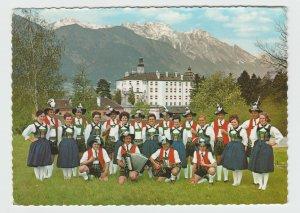 Austria Innsbruck Tirol Volkstanzgruppe Folk Dance Group Postcard