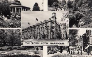 The Crown Hotel Harrogate Vintage Mint Real Photo Postcard