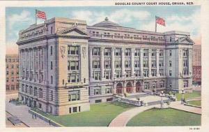 Exterior, Douglas County Court House, Omaha, Nebraska, 30-40s