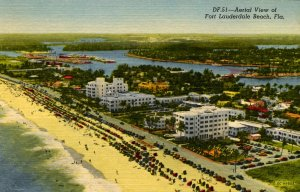 FL - Fort Lauderdale. Aerial View