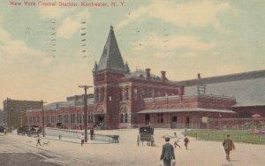 ROCHESTER, New York, 1910; New York Central Station