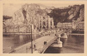 DINANT, Namur, Belgium, 1900-1910's; La Citadelle, L'Eglise Et Le Pont