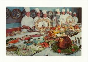 3036  Fl  Sarasota    Azure Tides Hotel Court Smorgasboard-  Chefs