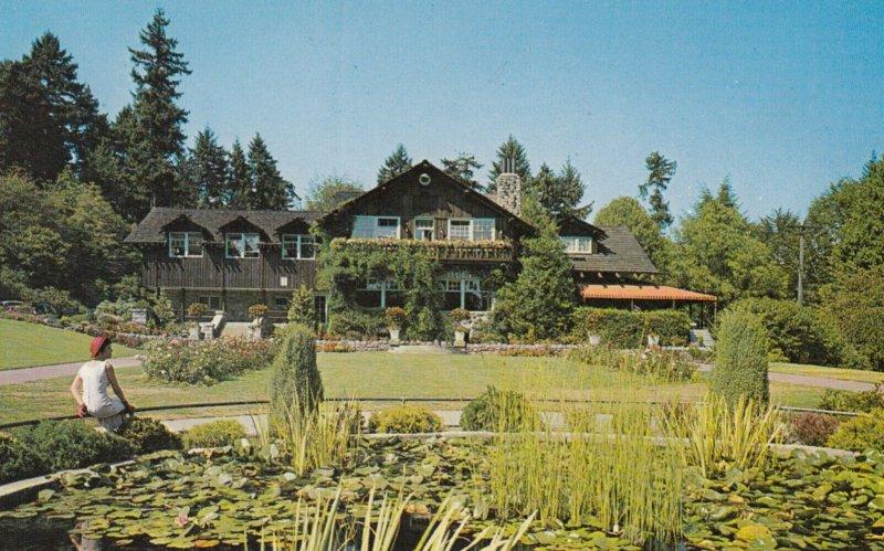 VANCOUVER , B.C. , Canada , 1950-60s ; Lily Pond & Pavilion , Stanley Park