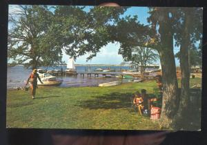 FORT WORTH TEXAS U.S. AIR FORCE NAVY FIGHTER PLANE F-11 MILITARY POSTCARD