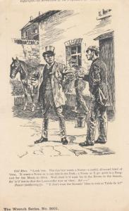 UK Comic ; The Guv'nor wants a Norse (Horse) , 00-10s ; PUNCH Postcard