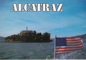 Alcatraz On San Francisco Bay California