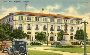 GA - Augusta. Post Office